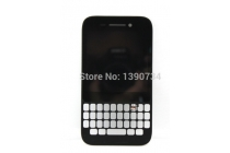 Lcd-жк-сенсорный дисплей-экран-стекло с тачскрином, передней панелью и клавиатурой на телефон blackberry q5 черный + гарантия