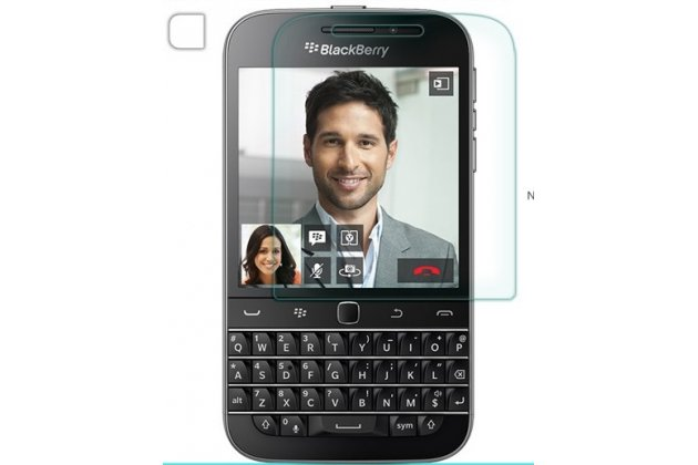 Защитная пленка для телефона blackberry q20 classic глянцевая