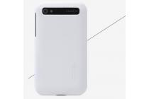 Задняя панель-крышка-накладка из тончайшего и прочного пластика для blackberry q20 classic белая