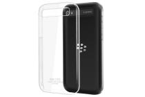 Задняя панель-крышка-накладка из тончайшего и прочного пластика для blackberry q20 classic прозрачная