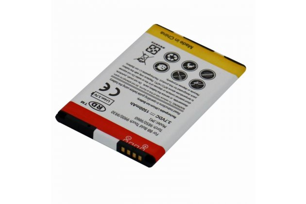 Аккумуляторная батарея 1500mah jm1 на телефон blackberry torch 9860 + инструменты для вскрытия + гарантия