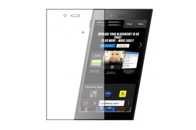"""Защитная пленка для телефона blackberry z3 5.0"""" глянцевая"""