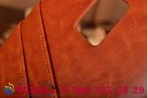 Роскошная элитная премиальная задняя панель-крышка для blackberry passport q30 из качественной кожи буйвола с визитницей коричневый