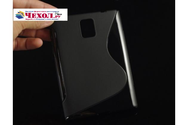 Ультра-тонкая полимерная из мягкого качественного силикона задняя панель-чехол-накладка для blackberry passport q30 черный