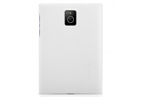 Задняя панель-крышка-накладка из тончайшего и прочного пластика для blackberry passport q30 белая
