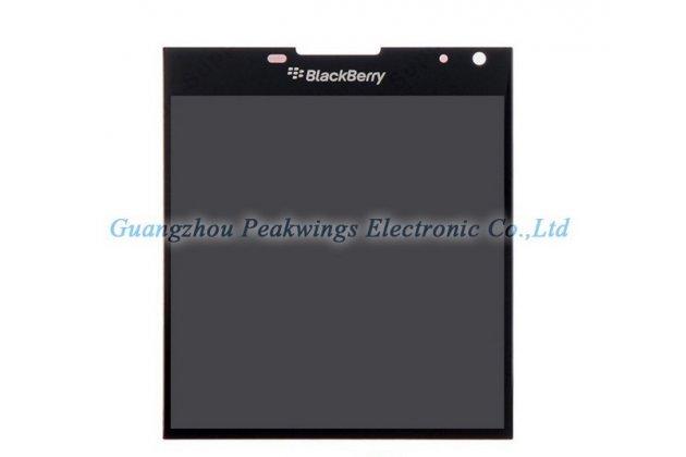 Lcd-жк-сенсорный дисплей-экран-стекло с тачскрином на телефон blackberry passport q30 черный + гарантия