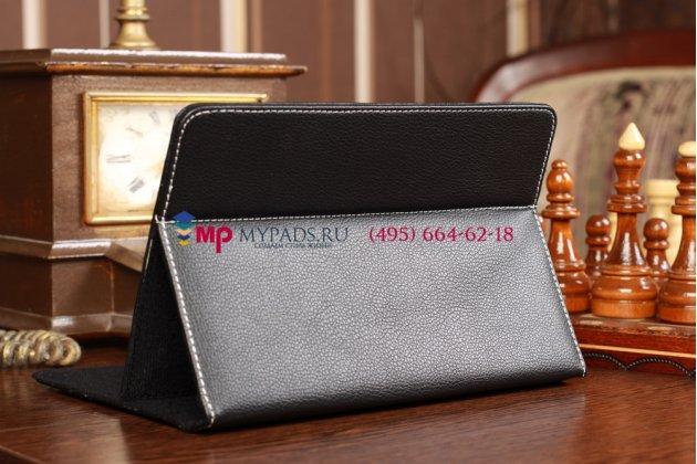 Чехол-обложка для bliss pad b8012 черный кожаный