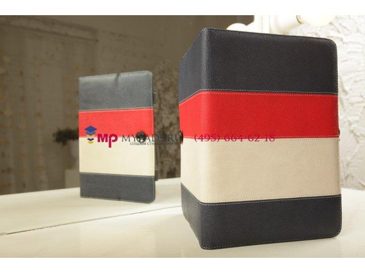 Чехол-обложка для bliss pad r9720 синий кожаный