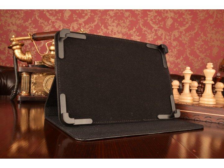 Чехол-обложка для планшета asus padfone 1 a66 с регулируемой подставкой и креплением на уголки..