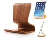 Деревянная настольная подставка-держатель для планшетов с диагоналями 7.0 / 7.85/ 8.0/ 8.9/ 9.0/ 10.1 дюймов