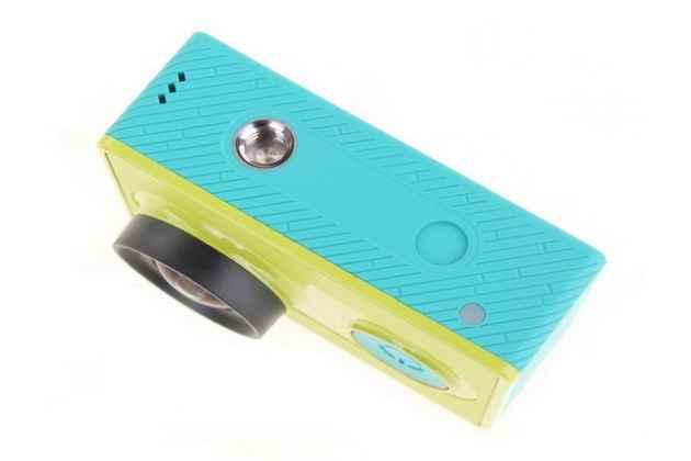 Портативная спортивная экшн-камера xiaomi yi action camera basic edition водонепроницаемая беспроводная. цвет в ассортименте.
