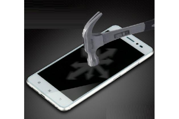 Защитное закалённое противоударное стекло премиум-класса из качественного японского материала с олеофобным покрытием для doogee dg700