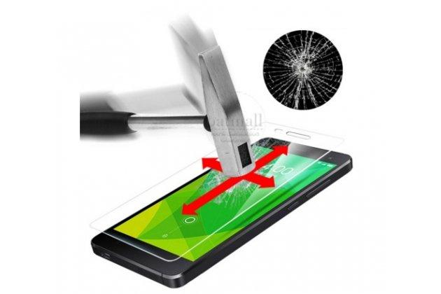Защитное закалённое противоударное стекло премиум-класса из качественного японского материала с олеофобным покрытием для doogee f5