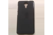 Ультра-тонкая полимерная из мягкого качественного силикона задняя панель-чехол-накладка для  fly wileyfox swift черная