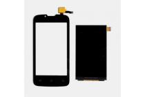 """Сенсорное стекло-тачскрин для телефона fly iq4407 era nano 7"""" черный и инструменты для вскрытия + гарантия"""
