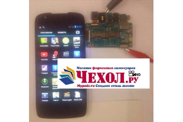 Lcd-жк-экран-сенсорное стекло-тачскрин для телефона fly iq4405 evo chiс 1 черный и инструменты для вскрытия + гарантия