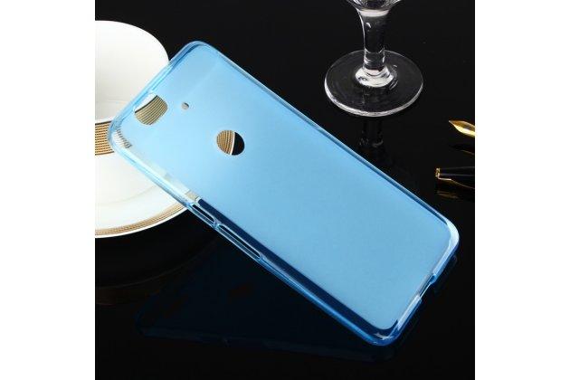 Ультра-тонкая полимерная из мягкого качественного силикона задняя панель-чехол-накладка для huawei google nexus 6p голубая
