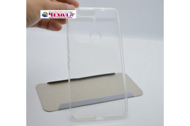 Ультра-тонкая полимерная из мягкого качественного силикона задняя панель-чехол-накладка для huawei google nexus 6p белая