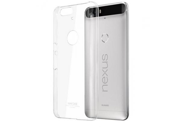 Задняя панель-крышка-накладка из тончайшего и прочного пластика для huawei google nexus 6p прозрачная