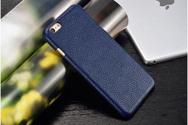 Роскошная элитная премиальная задняя панель-крышка для lg google nexus 5x из качественной кожи буйвола синяя