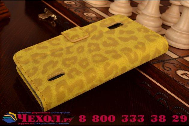 Чехол-защитный кожух для lg google nexus 4 e960 леопардовый желтый