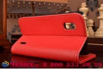 Чехол-книжка с подставкой для lg google nexus 4 e960 красный