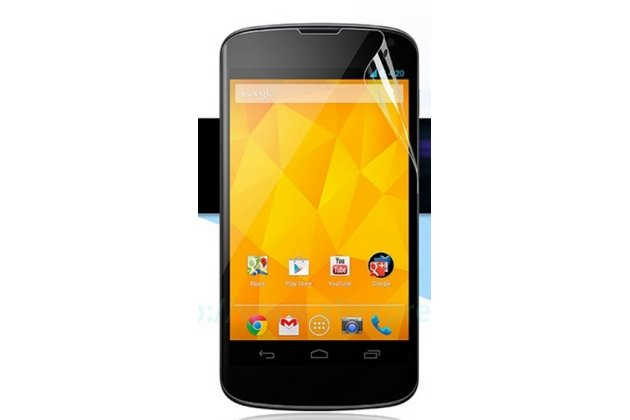 Защитная пленка для телефона lg google nexus 4 e960 глянцевая