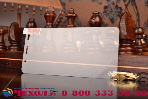 Защитное закалённое противоударное стекло премиум-класса из качественного японского материала с олеофобным покрытием для huawei honor 4a/y6/ y6 dual sim