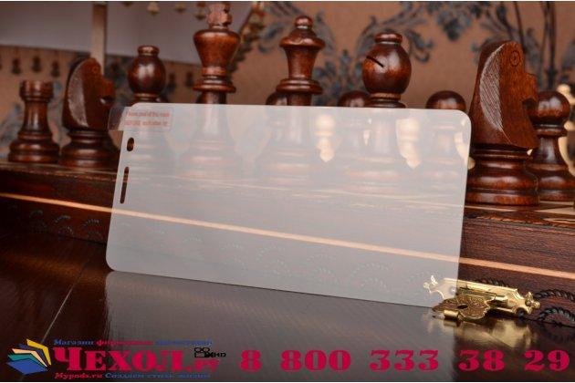 """Защитное закалённое противоударное стекло премиум-класса из качественного японского материала с олеофобным покрытием для  huawei honor 7i dual sim/shotx 5.2"""""""