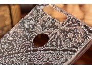 Фирменная задняя панель-чехол-накладка из прозрачного 3D  силикона с объёмным рисунком для Huawei Honor 8 (FRD..