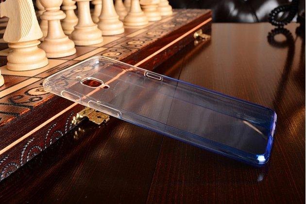 Ультра-тонкая полимерная задняя панель-чехол-накладка из силикона для oneplus 3 прозрачная с эффектом дождя