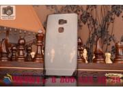 Фирменная ультра-тонкая полимерная из мягкого качественного силикона задняя панель-чехол-накладка для Huawei M..