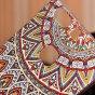"""Ультра-тонкая силиконовая задняя панель-крышка-накладка  для huawei p9 + plus (vie-al10 ) 5.5""""  с 3d объёмным рисунком """"тематика эклектические узоры"""""""