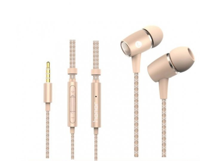 100% подлинные наушники-вкладыши с микрофоном и переключателем песен huawei am12 plus  для всех моделей телефо..
