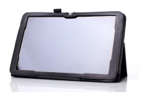 Чехол для lg g pad 2 10.1 (v940/ v935)  черный кожаный