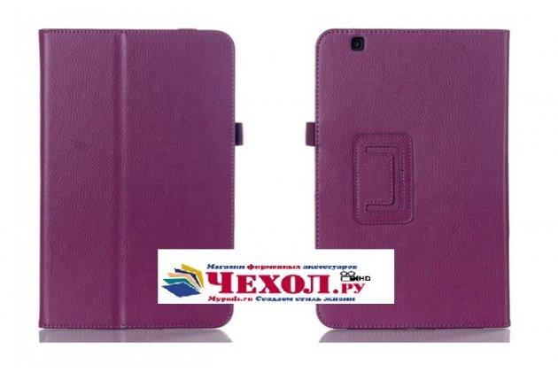 Чехол для lg g pad 2 10.1 (v940/ v935)  фиолетовый кожаный