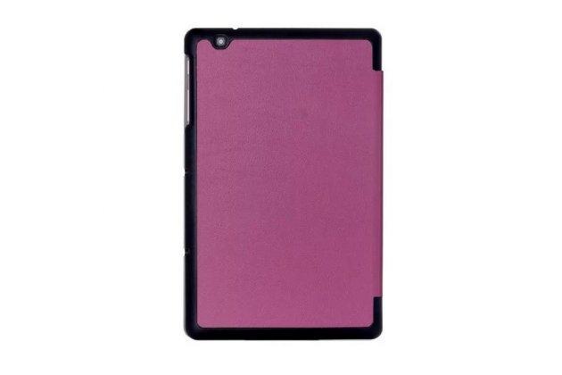 """Умный чехол-книжка самый тонкий в мире для lg g pad 2 10.1 (v940/ v935) """"il sottile"""" фиолетовый кожаный"""