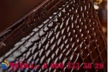 Роскошный эксклюзивный чехол-клатч/портмоне/сумочка/кошелек из лаковой кожи крокодила для планшета lg g pad 3 8.0. только в нашем магазине. количество ограничено.