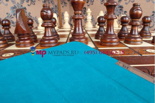 """Умный чехол-книжка самый тонкий в мире для lg g pad 7.0 v400  """"il sottile"""" голубой пластиковый"""