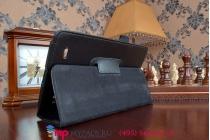 Чехол обложка для lg g pad 8.0 v480/490 черный кожаный