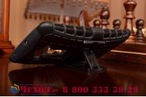 Противоударный усиленный ударопрочный чехол-бампер-пенал для lg g flex 2 черный