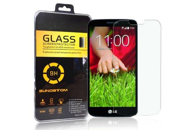 Защитное закалённое противоударное стекло премиум-класса из качественного японского материала с олеофобным покрытием для lg g2 (d802)