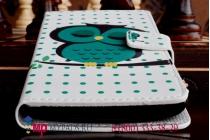 """Уникальный необычный чехол-книжка для lg g3s mini d724 """"тематика сова"""""""