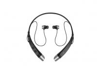 Фирменная оригинальная беспроводная спортивная стерео-гарнитура LG HBS-500 Bluetooth  с микрофоном и переключателем песен для всех моделей телефонов