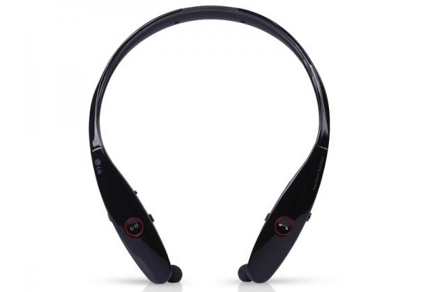 Беспроводная спортивная стерео-гарнитура lg hbs-900 bluetooth  с микрофоном и переключателем песен для всех моделей телефонов