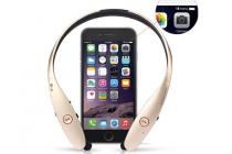 Фирменная оригинальная беспроводная спортивная стерео-гарнитура LG HBS-900 Bluetooth  с микрофоном и переключателем песен для всех моделей телефонов