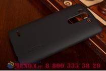 Задняя панель-крышка-накладка из тончайшего и прочного пластика для lg g3s mini d724/d722 черная