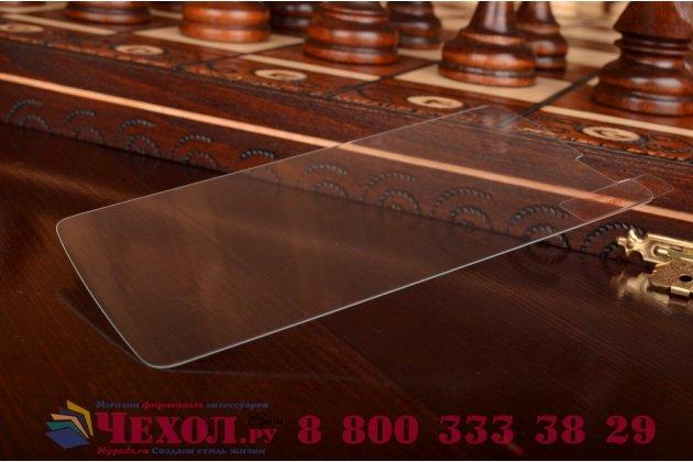 Защитное закалённое противоударное стекло премиум-класса из качественного японского материала с олеофобным покрытием для lg l bello d335