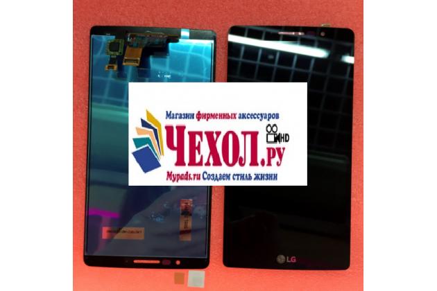 Lcd-жк-сенсорный дисплей-экран-стекло с тачскрином на телефон lg clas черный + гарантия