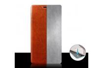 Чехол-книжка из качественной водоотталкивающей импортной кожи на жёсткой металлической основе для lg g3 mini черный
